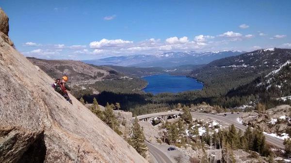 Klettern in Kalifornien